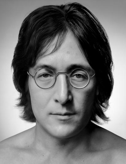 ZHANG Wei_Artificial Theater-Big star John Lennon_2014_Photo Rag_113x143x7cm