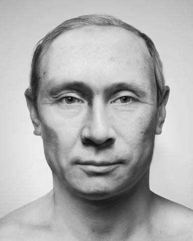 ZHANG Wei_Artificial Theater-The leader Vladimir Vladimirovich Putin_2012_Photo Rag_113x93x7cm