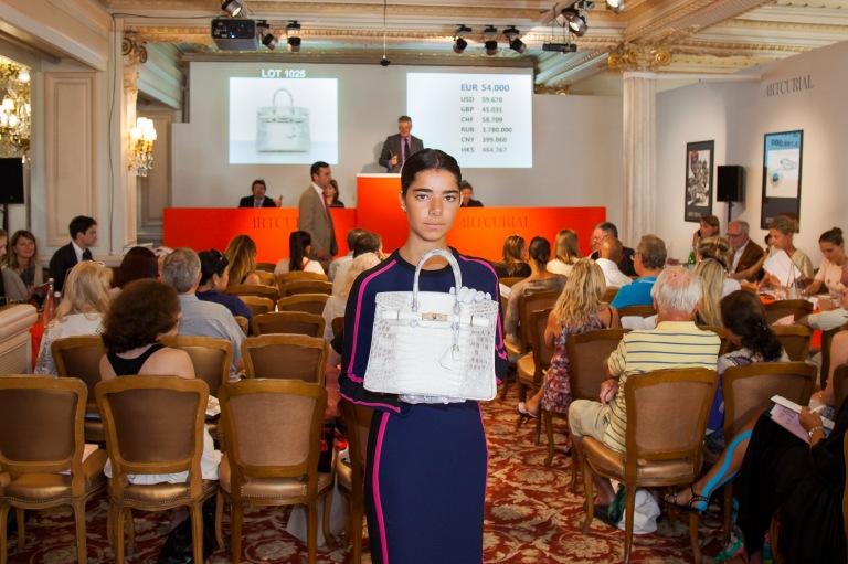 Hermès Bags Auction in Monaco 20 July 2016 © Sidney Guillemin