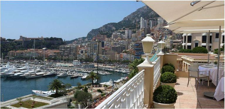 The Terrace of Hôtel Hermitage