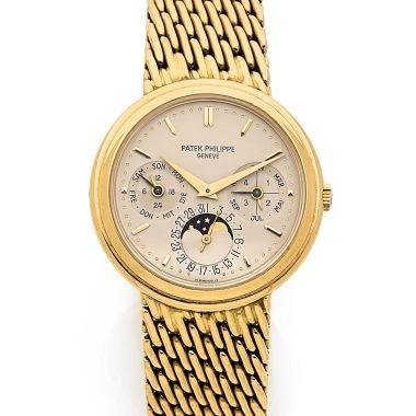 patek-philippe-montre-bacelet-en-or-jaune-avec-quantieme-perpetuel-et-phase-de-la-lune